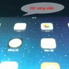 Màn hình iPad 3 Bị Hở Sáng Nỗi Lo Của Nhiều Người