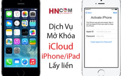 Mở Khóa ICloud IPhone 4
