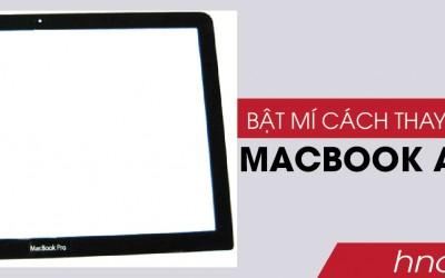 Bật mí cách thay màn hình macbook air 2016