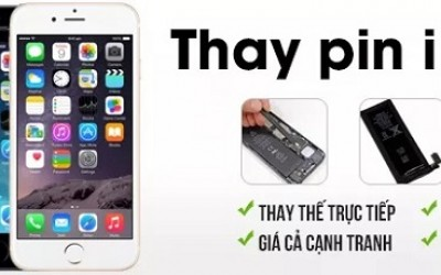 Thay pin iPhone 5/5S/5C