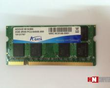 Ram laptop cũ 2GB-DDR2-Bus 800