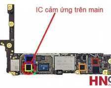 Thay IC Cảm Ứng trên Main iPhone 5/5S/5C