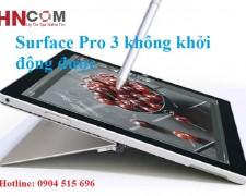 Surface Pro 3 không khởi động được: Lỗi do đâu? Cách khắc phục như thế nào?