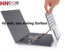 Nhận vệ sinh, bảo dưỡng Surface nhanh chóng, chu đáo, lấy ngay tại Hà Nội