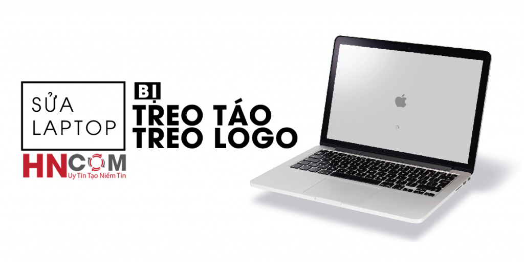 macbook bị treo logo