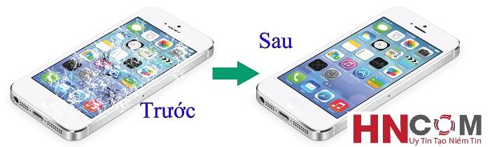 Thay mặt kính iPhone 5/5S/ 5C