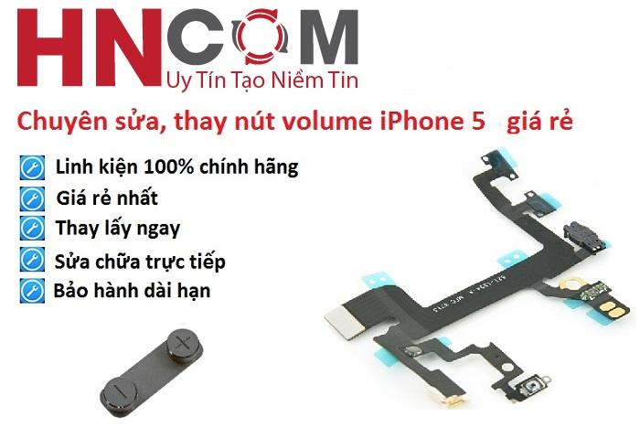 Thay nút volume iPhone 5/5S/5C