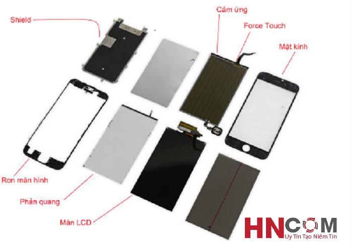 Thay phản quang iPhone 5/5S/5C