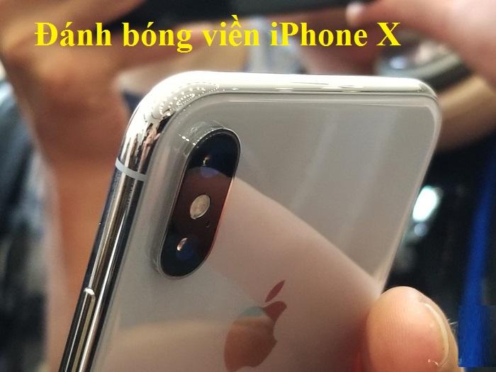 Đánh bóng viền iPhone X