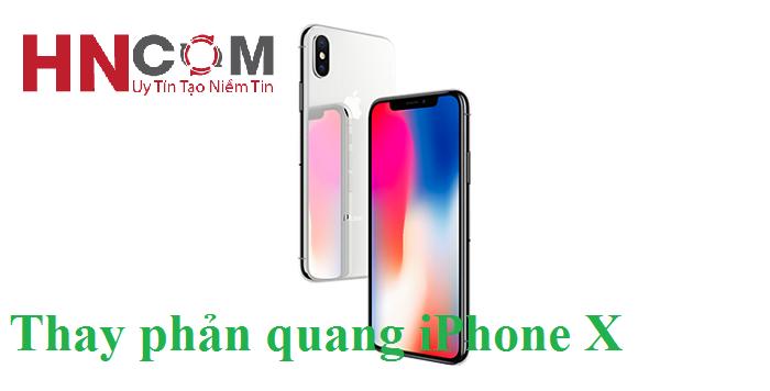 Thay phản quang iPhone X