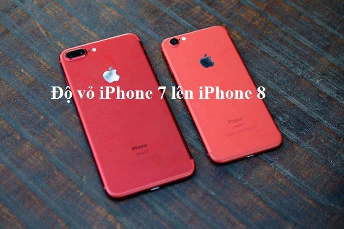Độ vỏ iPhone 7 lên iPhone 8